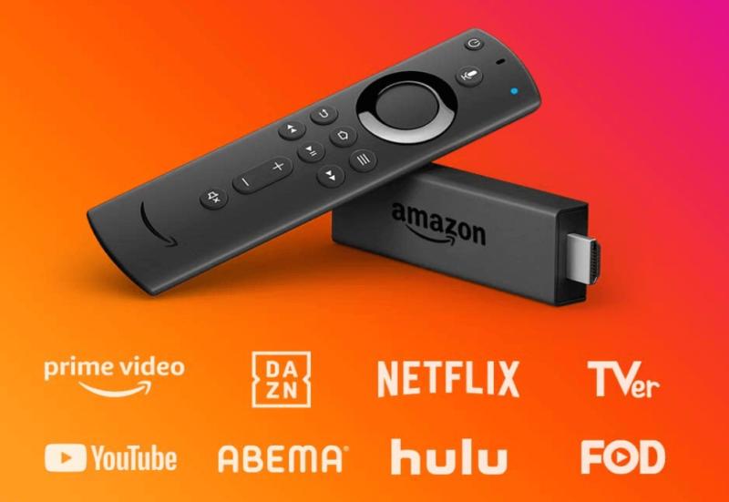 DAZN(ダゾーン)をテレビで見る方法①:Fire TV Stick