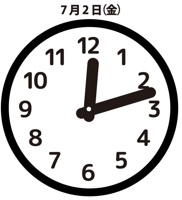 返信:7月2日(金)12時13分