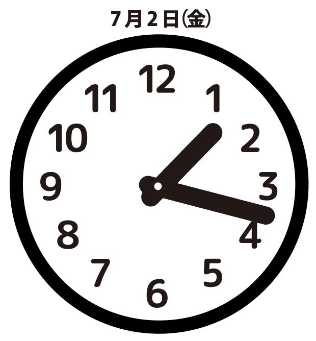 依頼:7月2日(金)13時18分