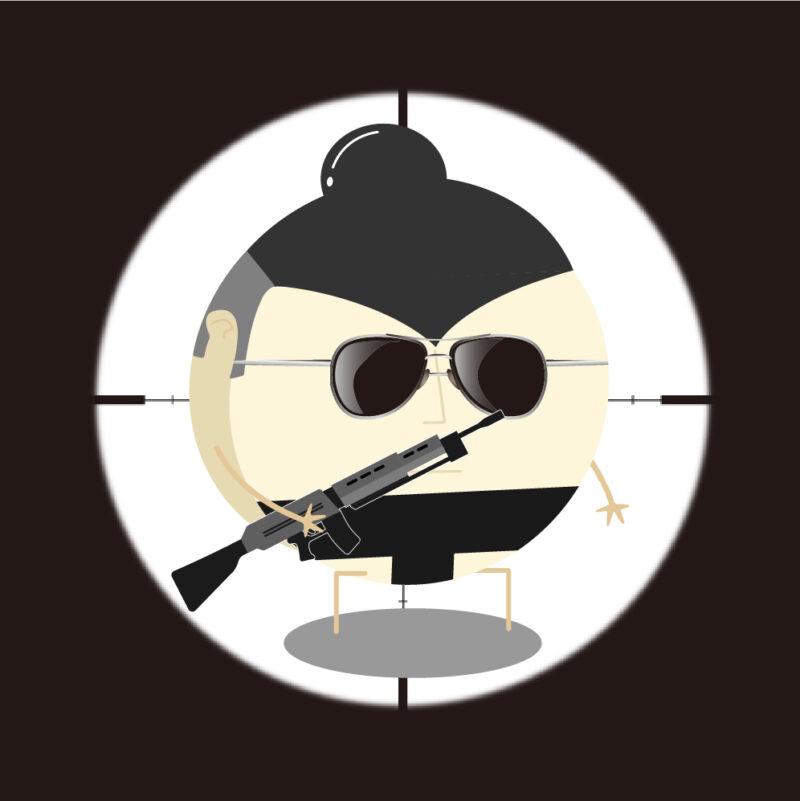 CircleRikishi #002 sniper